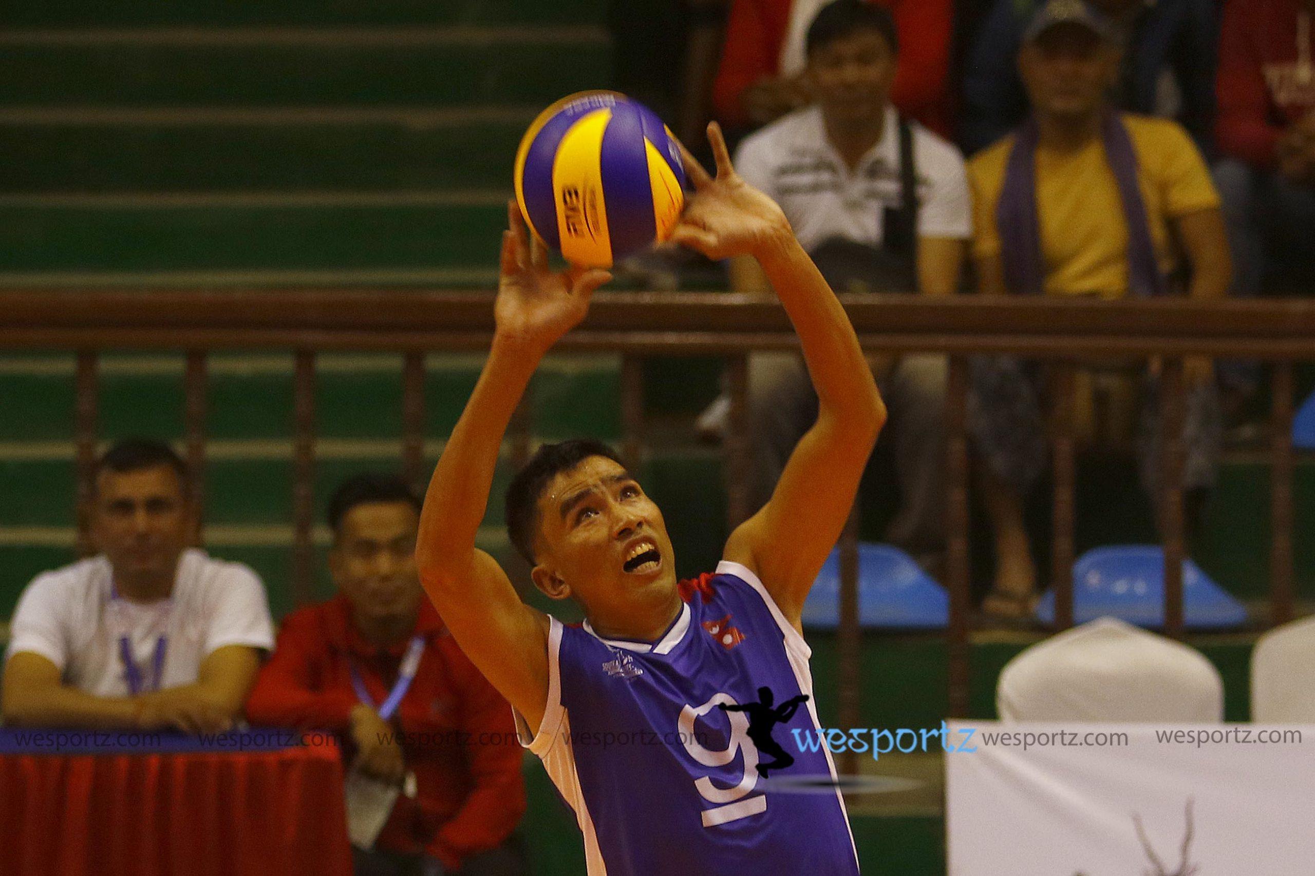 em Bahadur rana, nepal volleyball,