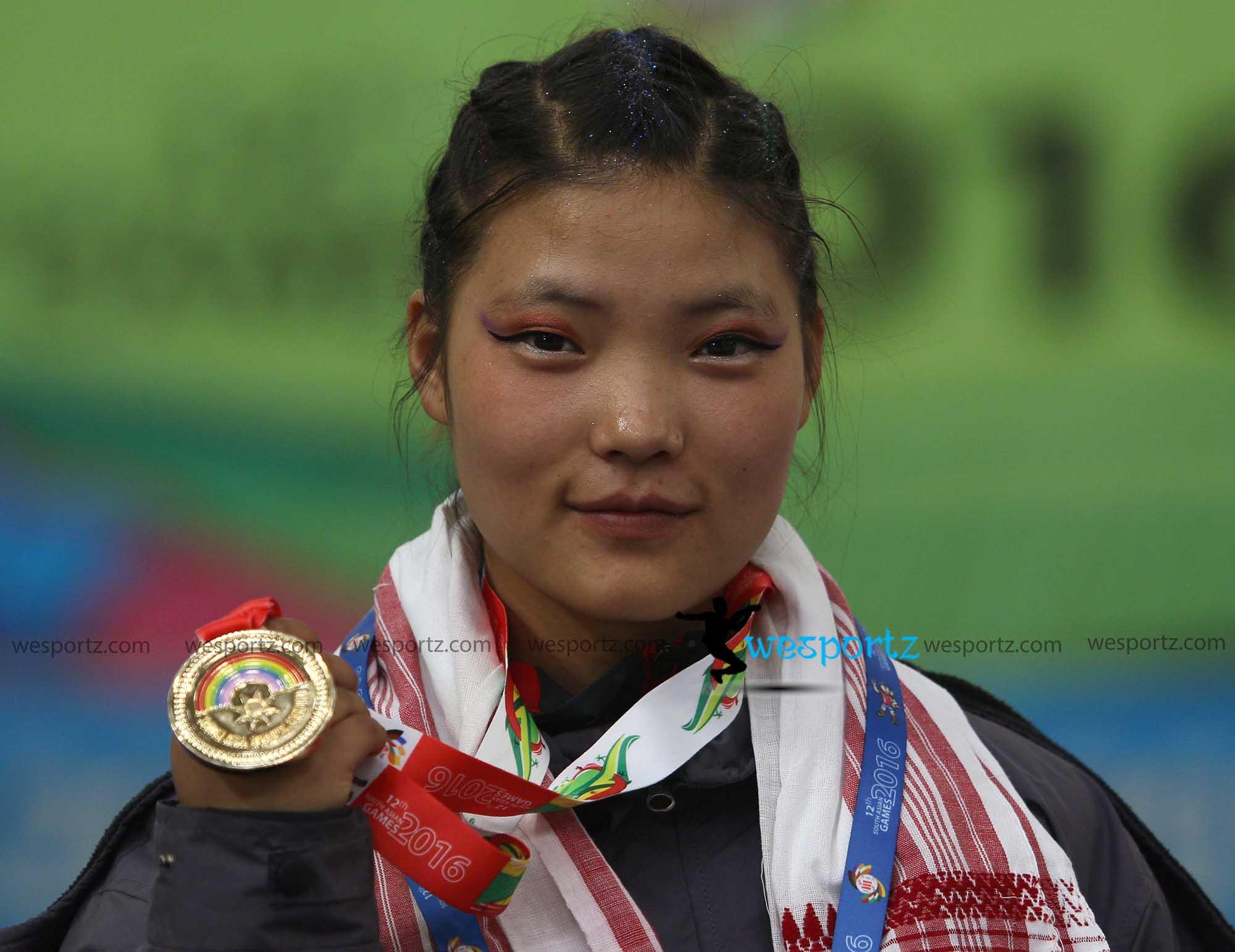 Nima gharti magar, Nima gharti magar wushu player, gold medal for nepal,
